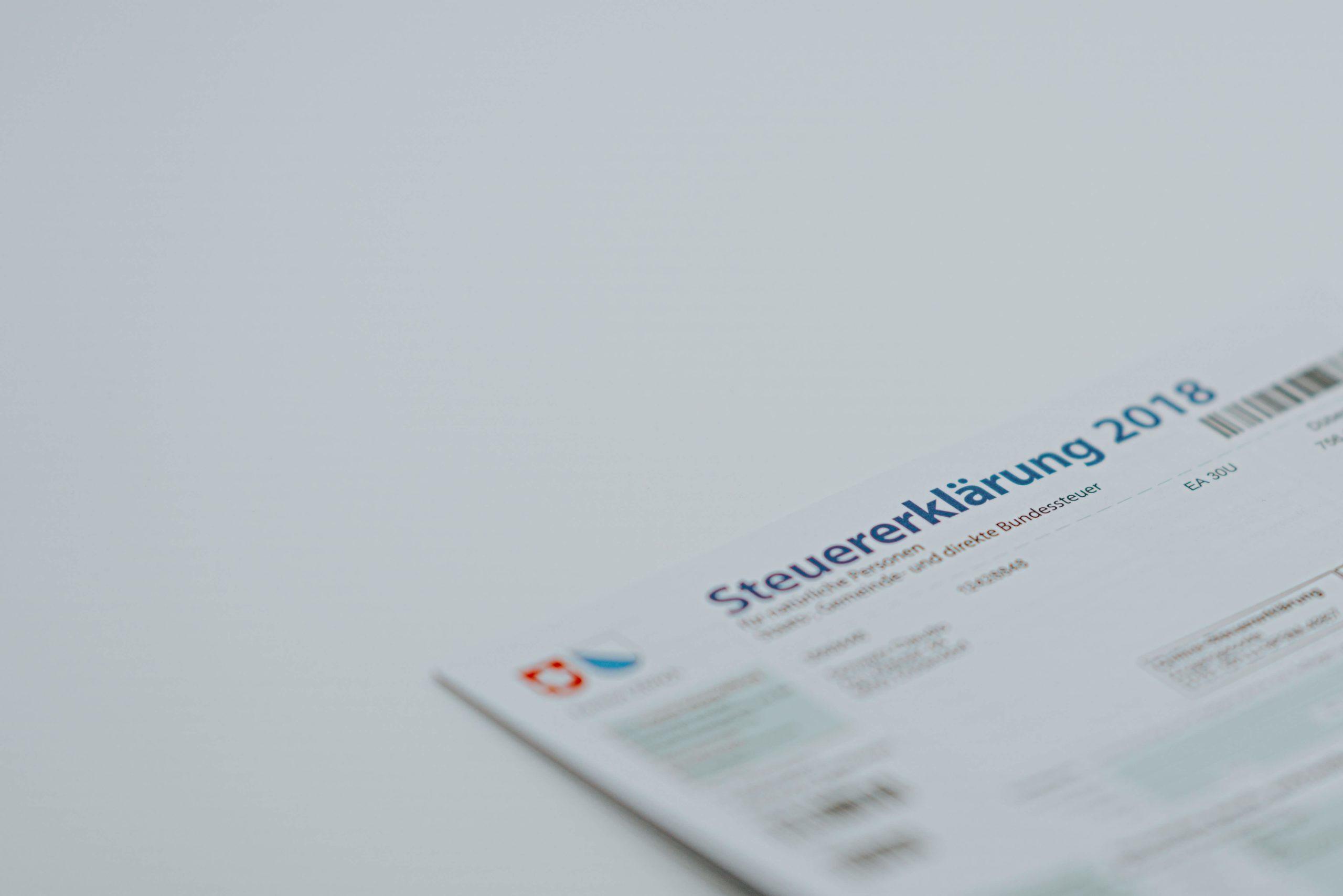 Paper Steuererklärung How to apply for a German VAT number