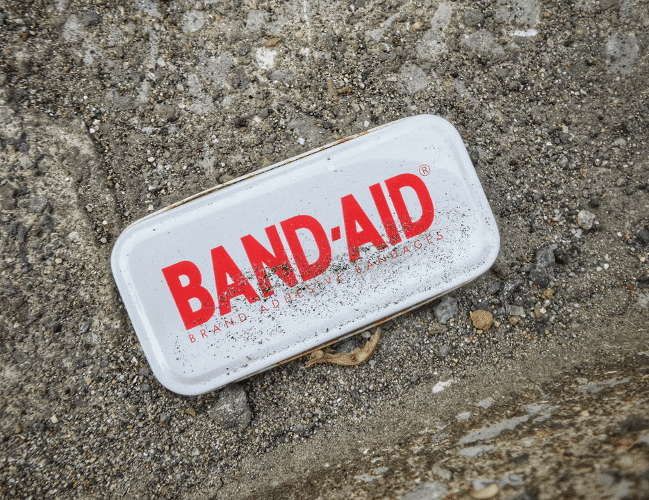 Band-Aid Box for important insurances for startups in Germany