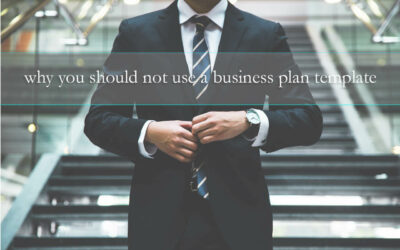 5 reasons why you should not use a business plan template