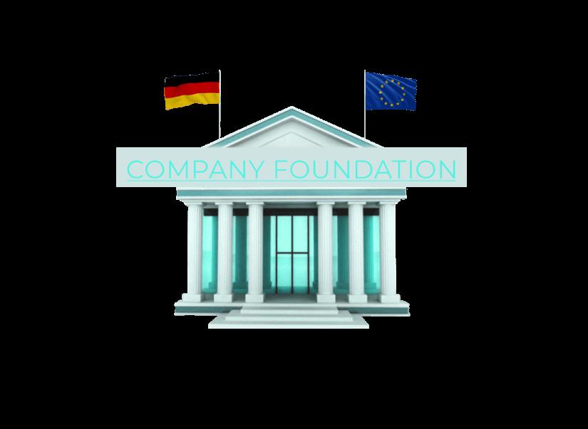 Grafik einer finanziellen Einrichtung mit dem Fokus auf Existenzgründung in Deutschland