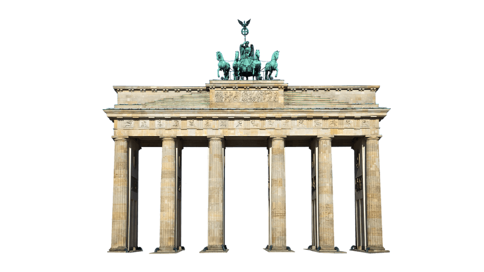 Sightseeing symbol for Berlin - Brandenburger Tor