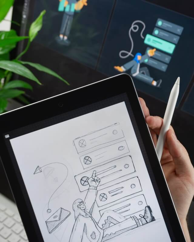 Digiboost RLP tablet with digitisation drawing